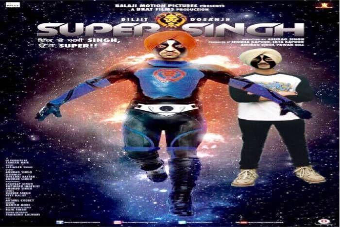'सुपरसिंह' दिलजीत दोसांझ का सुपर हीरो अवतार,पहना 11 किलो का कॉस्टयूम