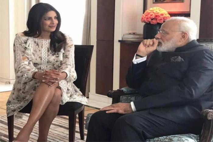 विदेश में पीएम मोदी से मिली देसी गर्ल प्रियंका चोपड़ा, ट्विटर पर ट्रोल कर लोगों ने याद दिलाए संस्कार, प्रियंका ने दिया करार जवाब