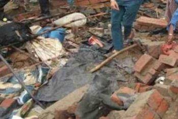 हिमाचल प्रदेश में तूफान के दौरान गिरी दीवार, 4 बच्चों सहित आठ लोगों की मौत