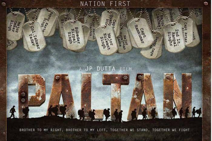 'बाॅर्डर'  के बाद देशभक्ति का जज्बा जगाने फिर आ रहे हैं जेपी दत्ता, जारी किया 'पलटन' का पहला लुक