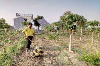 उदयपुर के इस किसान का खेत है हाईटेक, 20 बीघा जमीन पर 16 सीसीटीवी कैमरे