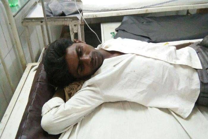 video: पति पत्नी कुएं में कूदे, हाथ पैर टूट गए