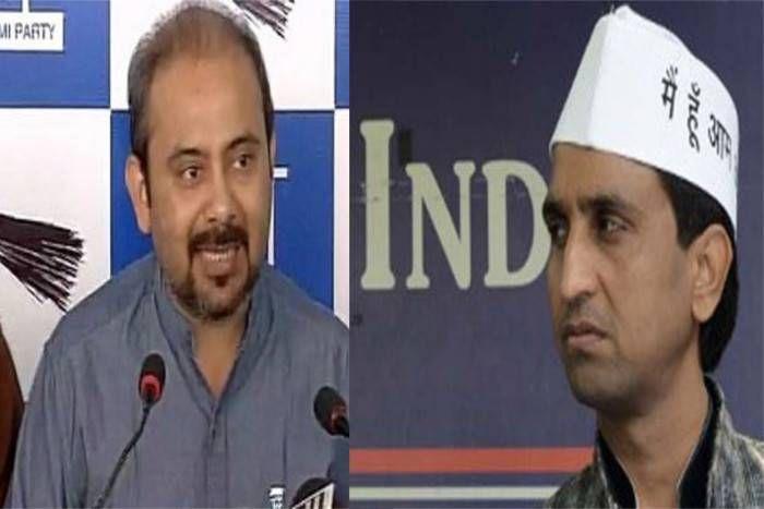 आप नेता दीलीप पांडे का विश्वास पर हमला, कहा- बीजेपी के खिलाफ क्यों नहीं करते टिप्पणी