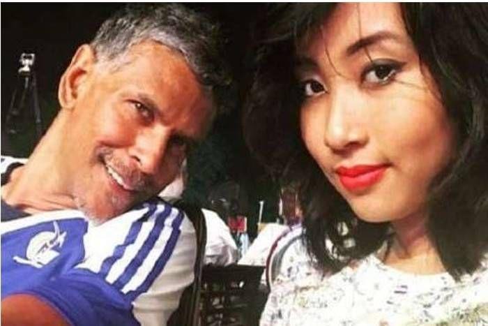 बॉलीवुड में ट्रैंडिंग '50-25' की लव कैमिस्ट्री, अनुराग कश्यप के बाद 51 साल के एक्टर मिलिंद सोमन को हुआ खुद से 26 साल छोटी लड़की से प्यार