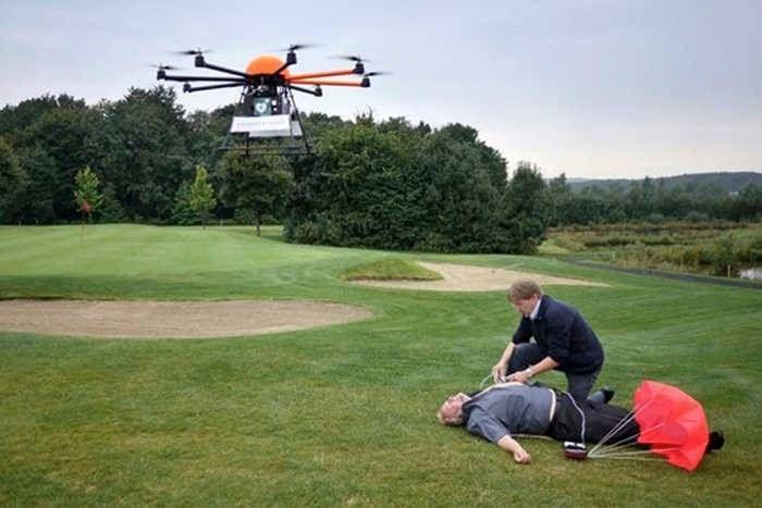 हार्ट अटैक आने पर जिंदगी बचाएगा ड्रोन, 4 गुना तेजी से मिलेगी आपातकालीन सेवाएं