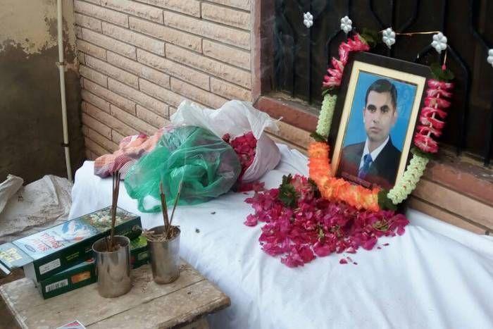 आनंदपाल एनकाउंटरः आज हो सकता है अंतिम संस्कार, छावनी में तब्दील हुआ सांवराद, 450 पुलिसकर्मी तैनात