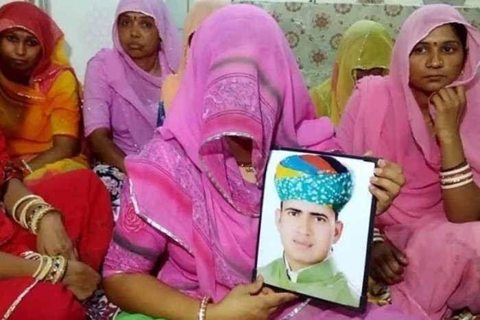 एक पत्नी मांग रही इंसाफ, कहा-जब आनंदपाल ने मेरे पति को मारा तब कहां था समाज