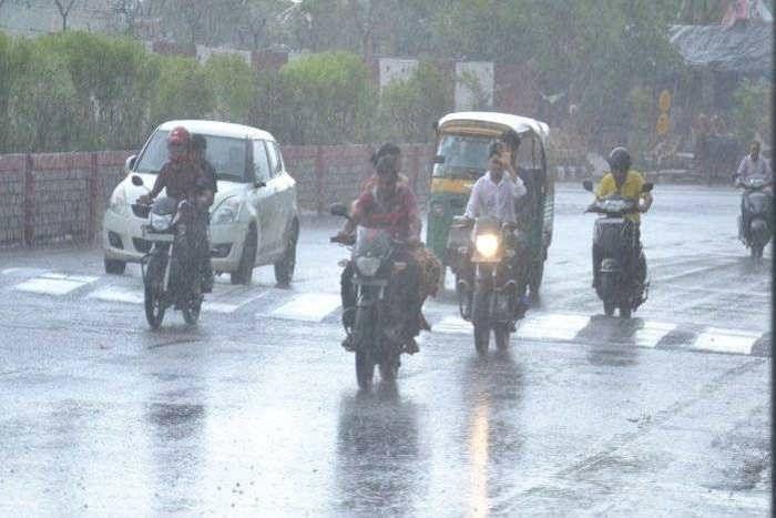 पूर्वी राजस्थान में अगले 24 घंटे में तेज बारिश का अनुमान तो मानसून नहीं पहुंचने से जैसलमेर में 41 के पार पहुंचा तापमान