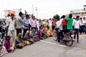 #Cool India:पानी की समस्या से आक्रोशित महिलाओं ने लगाया जाम