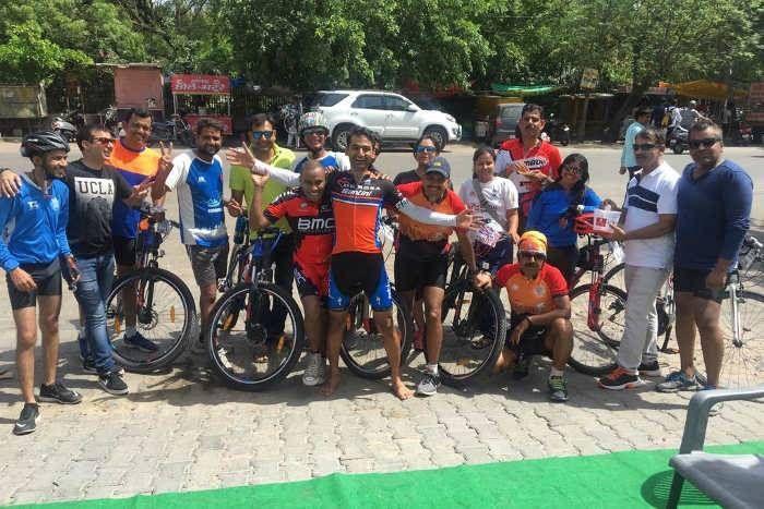 साइकिल कल्चर को प्रमोट करने के लिए आगे आए जयपुरराइट्स, 100 किलोमीटर साइकिल चलाकर किया अवेयर