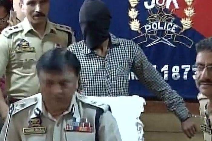 लश्कर आतंकी संदीप शर्मा गिरफ्तार, पुलिसकर्मियों की हत्या सहित बैंक लूट की वारदातों में रहा है शामिल