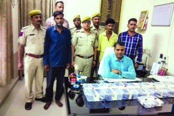 #Crime: पुलिस ने पकड़ा अवैध हथियारों का जखीरा