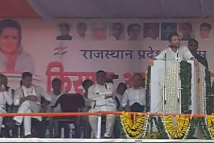राहुल गांधी ने केन्द्र सरकार पर बोला हमला, कहा- किसानों के दुख पर हमें लोकसभा में बोलने तक नहीं दिया जाता