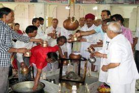देखेंvideo:शिवालयों में उमड़ी भक्तों की श्रद्धा, पंचामृत से भगवान शिव का किया सहस्त्रघट