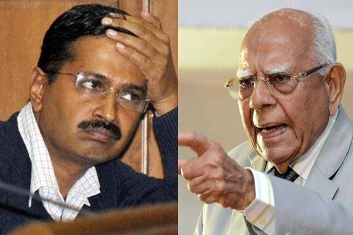 राम जेठमलानी ने छोड़ा अरविंद केजरीवाल का साथ, नहीं लड़ेंगे मानहानि का केस, मांगी 2 करोड़ की फीस
