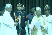 नीतीश कुमार छठी बार बने बिहार के मुख्यमंत्री, सुशील मोदी ने ली उप मुख्यमंत्री पद की शपथ