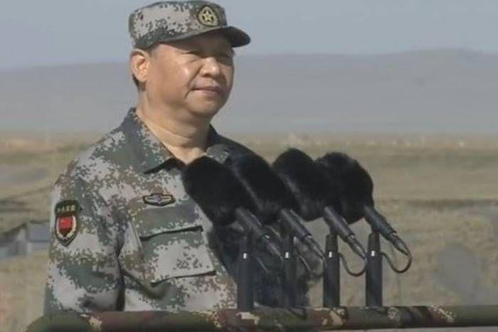भारत से विवाद के बीच चीन ने दिखार्इ सैन्य ताकत, राष्ट्रपति जिनपिंग ने कहा- युद्घ के लिए रहो तैयार