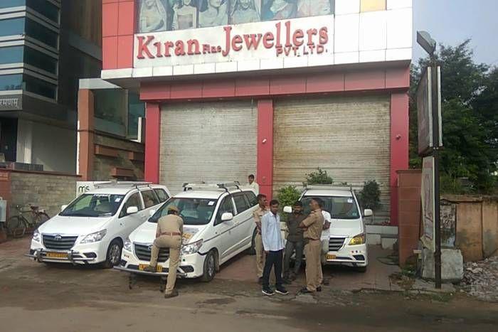 जयपुर में ज्वैलर्स समूह पर आयकर विभाग का छापा, एक साथ कर्इ ठिकानों पर की कार्रवार्इ