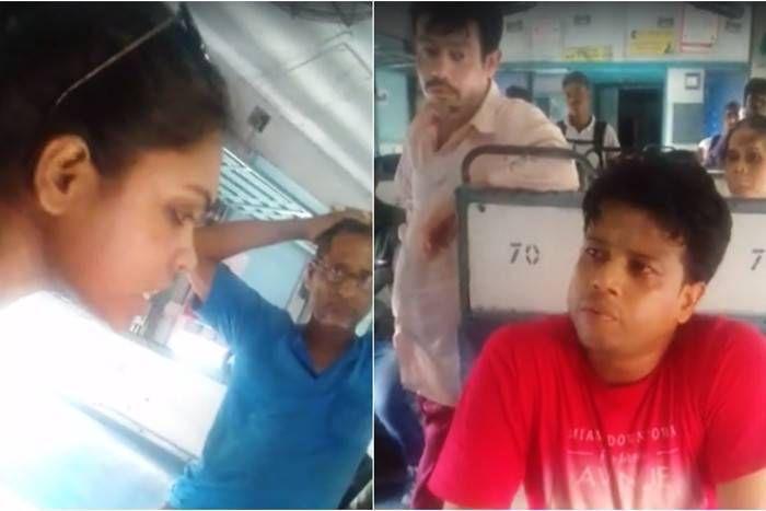 ट्रेन में छुपकर बना रहा था लड़की का वीडियो, पकड़े जाने पर बताया इसलिए बना रहा था...