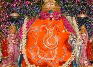 इंदौर के खजराना गणेश मंदिर में दर्शन कर करें नए साल का श्री गणेश