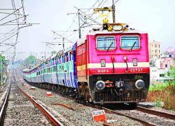 रेलवे को 40 लाख का फटका