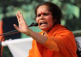 कांग्रेस मुक्त भारत के बाद मुस्लिम मुक्त भारत बनाने का वक्तः साध्वी प्राची